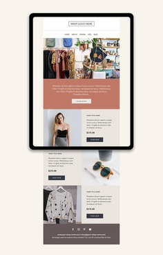 Mailchimp email template Responsive HTML email Newsletter image 0