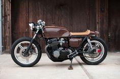 "motographite: HONDA CB 750F '78 ""ESPRESSO"" by KEN WU #motorbike #racer #cafe #brown #vintage #motorcycle"