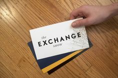 The Exchange Show #identity #branding