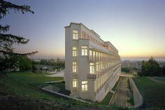 Sanatorium, architecture