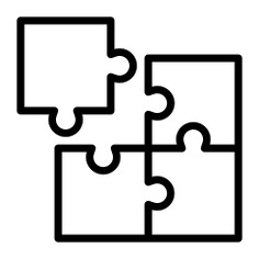 See more icon inspiration related to fit, puzzle, creativity, hobbies and free time, puzzle pieces, gaming, business and finance, puzzle game and kid and baby on Flaticon.