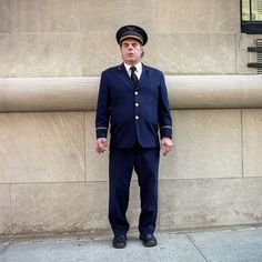 Doormen in NYC: Street Portrait Photography by Sam Golanski