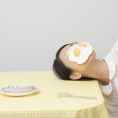 I am more than my face :) by Mitsuko Nagone #fried eggs