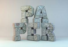 Paper Type | Txaber #paper #typography