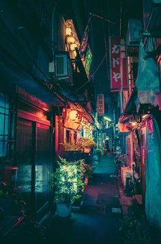 alley neon