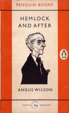 Penguin Books: Hemlock and after (1956) | Flickr - Photo Sharing! #graphic design #book cover #penguin books #jan tschichold #hans schmoller