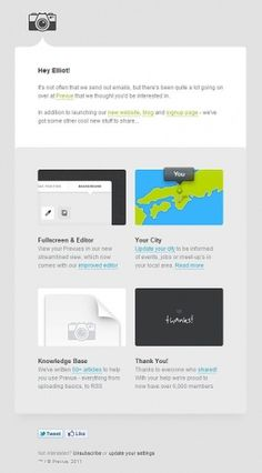 Email Inspiration: Prevue Newsletter | Email Design Review #web #shtml #email #prevue
