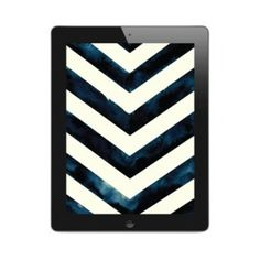 Image of Water Color Chevron | iPad & iPad Mini Wallpaper #water #ipad #paint #illustration #chevron #wallpaper