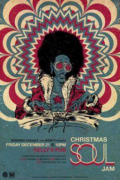 Vinyl Fever poster on Behance