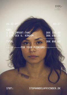 stophandelafvinder.dk #print #graphic design #typography #women #advertisement