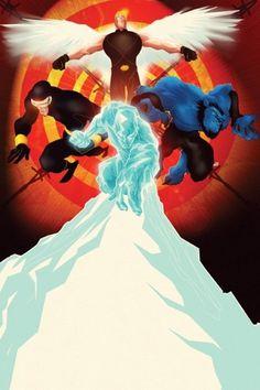 Marvel Comics Cover Art on the Behance Network #juan #doe #cover #comic #marvel #art