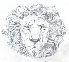 BLOG_j_OAKLEY_LION_lin #crown #lion #two #drawing #king #sketch
