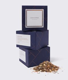 Sansuhwa Tea House by Studio Flag #packaging #box