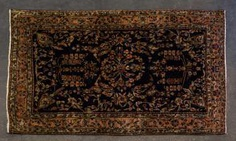 Orient carpet. FERRAGHAN/PERSIA , around 1900, approx. 200x125 cm