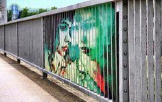 Hidden Railing Street Art7 640x406 #guerillia #picture #nice