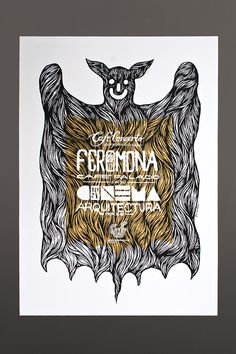 Silk Screened Poster Series | Café Concerto on Behance