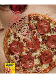 Jessica Hische #campaign #type #ad #pizza