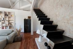 Design You Trust – Social design inspiration! #interior #staircase #zig #design #iron #minimalism #zag #shape #stairs