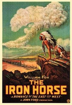 SFSFF 2010: The Iron Horse | Parallax View #clouds #movie #american #poster #native