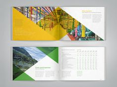 Google Annual Report on Behance #annual report