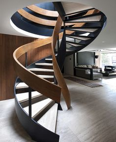 Renovated Mexican Residence by Paola Calzada Arquitectos - #stairs, #staircase, #stairway, architecture, stairs