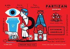 Partizan Brewing IPA G000 094 #brewery #partizan