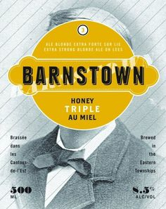 Boquébière Barnstown #beer #bottle #label #packaging
