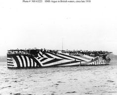 world war 1 dazzle camouflage #dazzle