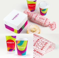 Embalagens #young #branding #packaging #colorful #brasil #dish #paper #cake #bakery #baker #buisess #design #brand #purple #stationery #sao #logo #logotype #box #megalodesign #megalo #brazil #cup #package #paulo #card