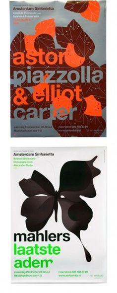 Rejane Dal Bello   AisleOne #typography #poster #music #amsterdam