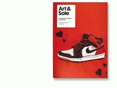 Creative Review - Art & Sole - where sneakers and art collide #design #graphic #magazine