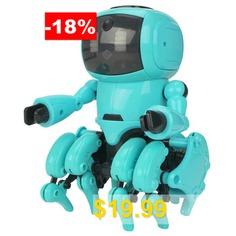962 #DIY #Assembled #Little #Eight #Robots #- #LIGHT #CYAN