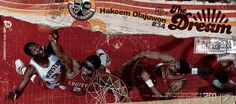 NBA 50 Greatest Players Collage hakeem olajuwon #Subedobar