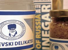 Russian Deli (Student Work) | Packaging of the World: Creative Package Design Archive and Gallery #deli #packaging #design #graphic #russian #food
