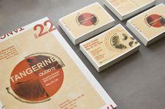 Tangerine: 2012 BFA Graphic Design Exhibition on Behance #postcards