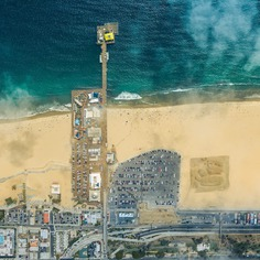 Piers of Southern California: Aerial Photography by Mitchell Rouse