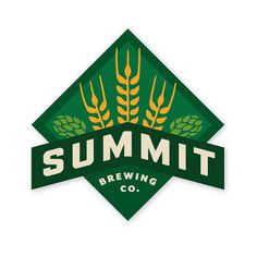 Summit Brewing Logo #beer #logo