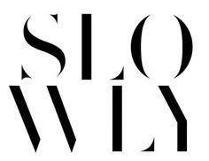 slowly.jpg 746×577 pixels #white #mediumstudio #black #and #logo #typography