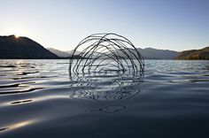 Ephemeral Environmental Sculptures Evoke Cycles of NatureJanuary 1 #natural #nature #sculpture
