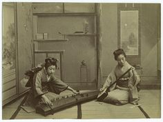 Home life in Japan. | Flickr - Photo Sharing! #kimono #tatami #koto #japanese #photography #music #japan