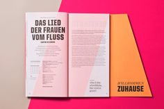 #opera #cologne #program #editorial #cut #slanted #colour #diagonal #typography