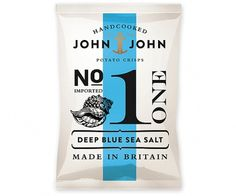Packaging In Brief: John & John Crisps « BP&O – Logo, Branding, Packaging & Opinion by Richard Baird