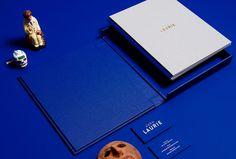 duo d uo | creative studio | John Laurie – folio #foiling #ykb #design #publication #collateral #blue #folio