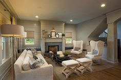 Original Design Ideas Unveiled by Craftsman Style Home in Ohio #interior #design #living #room