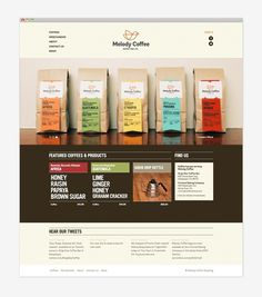 Melody Coffee: Website #jolby
