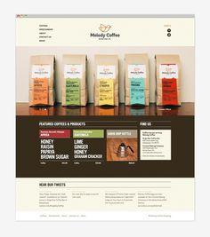 Melody Coffee: Website #jolby
