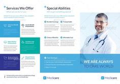 Image result for trifold brochure medical