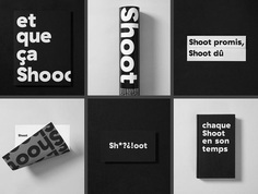 Shoot Studio is a hub of professional visual storytellers, including photographers, videographers, retouchers and producers. Jean-Philippe Dugal of Agency lg2 designed a strong and dynamic brand identity to leverage its position in the production industry and online. For more of the most beautiful designs visit mindsparklemag.com