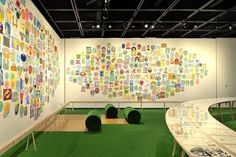川崎市市民ミュージアム「横山裕一」展 « TORAFU ARCHITECTS トラフ建築設計事務所 #exhibition #torafu #grass