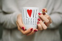 I love coffee by M. Klasan on Flickr #coffee #photography #love